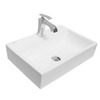 Clay Rectangular Bathroom Art Vanity Washing Basin SOLANGE VA 2036
