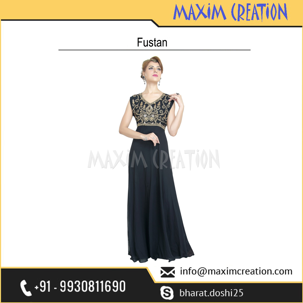 Most Attractive Party Wear Prom Dress For Women By Maxim Creation