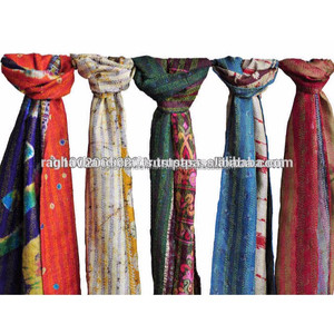 Exporters Suppliers Silk kantha Stoll/ Scarves/Shawl