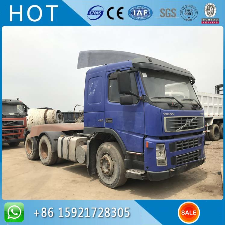 Tractor Truck Volvo FH12 420 ,6x4 Used China Truck For Sale