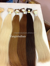 Hot sale wet and wavy hair weave different types of blonde wavy weave hair