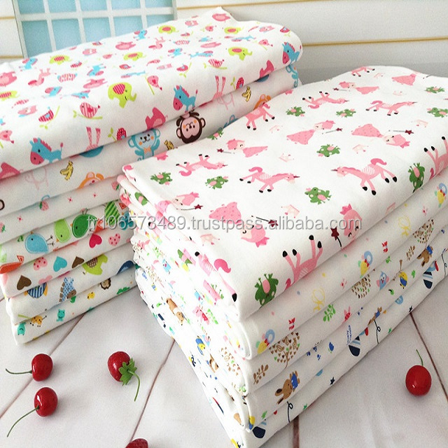 Alibaba Express Turkey 2018 Trending Products Cotton Flannel Fabric For Baby Bedding Sets