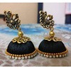 Peacock Kundan Earrings