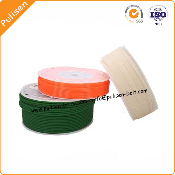 Factory Price Polyurethane round belt PU V-belt for transmission line