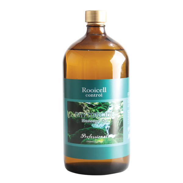 Phytoncid massage oil 1000ml(Blended oil ready for direct massage and apply on the body) Stress Relax,Soothing sensitive skin