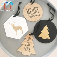 wholesale classic customized home Christmas wood wall decoration