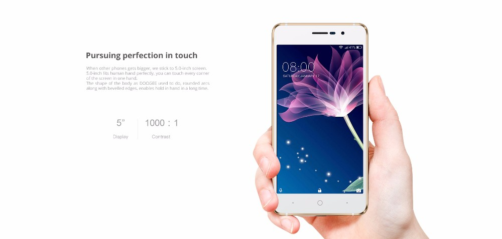 2017 factory price large stock doogee x10 wholesale price 512M 8gb gold black silver 5.0inch top sale hot model smartphone