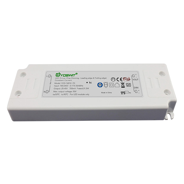 Yoswit Triac Dimmable Constant Current Driver 20W 700mA