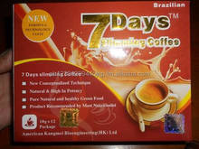 7 days slimming coffee