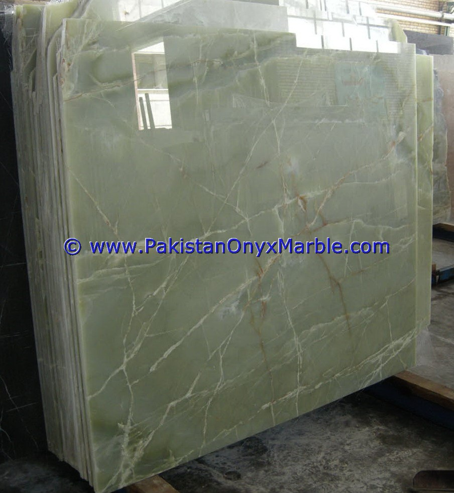 FACTORY PRICE WholeSale AFGHAN GREEN JADE ONYX SLABS