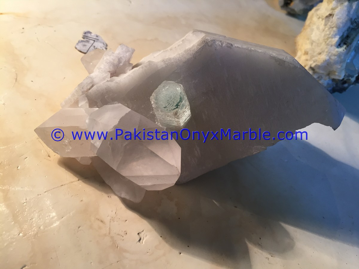 BEST HIGH QUALITY AQUAMARINE SPECIMENS CRYSTALS FROM NORTHERN AREAS PAKISTAN