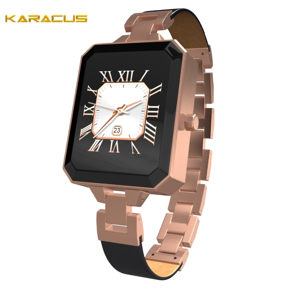 2018 Best Selling Fashion Designer Ladies Smart Watch Heart Rate Touch Screen Lady Watch