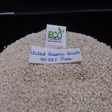 HIGH QUALITY WHITE HULLED SESAME SEEDS PRICE COMPETITVE EXPORTER