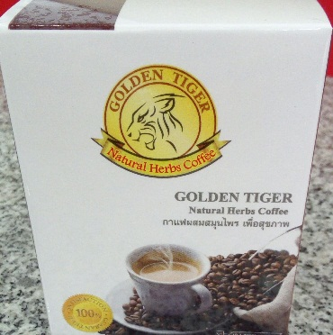 GOLDEN TIGER NATURAL HERBS COFFEE