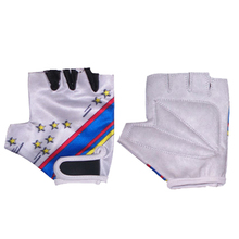Kids Cycling Gloves | Foam Padded Outdoor Sports Half Finger Short Gloves
