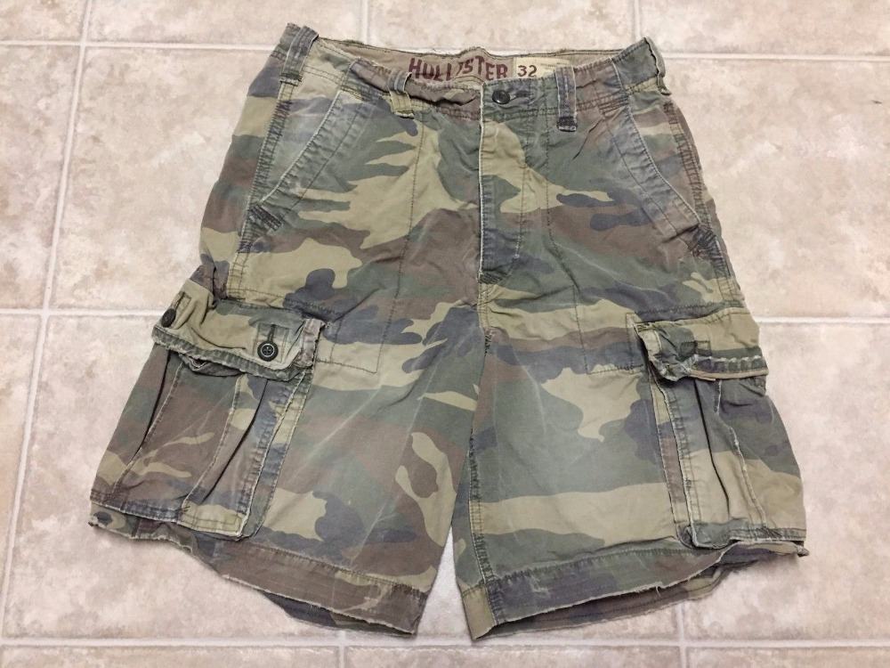 Cargo Shorts Men Cool Camouflage Summer Hot Sale Cotton Casual Men Short Pants Brand Clothing Comfortable Men Cargo Board Shorts