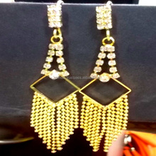 Indian Traditional One gram Gold Earring