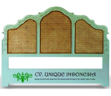 HOT SALE Wooden Carved Headboard Panel for bedroom Indonesia Furniture