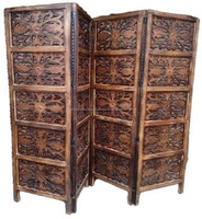 Wooden handmade Antique carving Room Partition & divider
