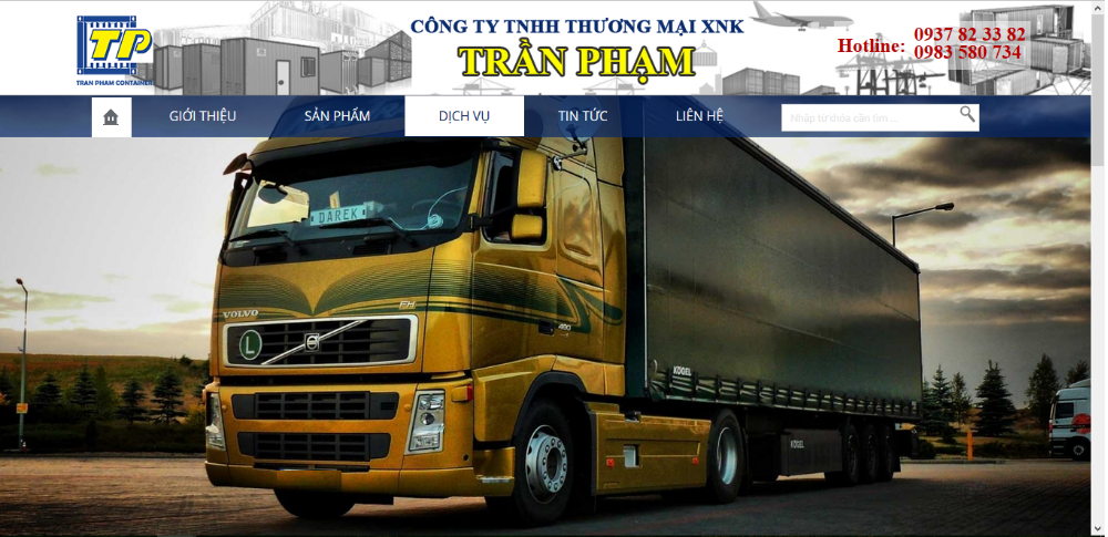 Transport & Logistics Service for Dry Container/ Office Container / Refri Container