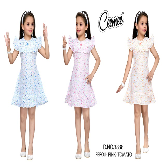 Best Quality Cotton wear frock for Girls new pattern
