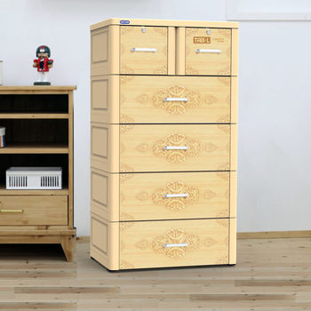 Hot sale product- High quality plastic drawer/ plastic cabinet/ TABI-L CABINET - 5 DRAWERS