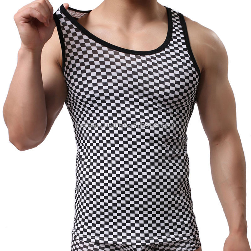 Good quality wholesale training gym tank body building men's tank top men gym vest