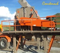 Large Feeding Size and High Crushing Chamber Tertiary Impact Crusher for Sale, MADE IN TURKEY