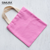 Dyed and Natural Cotton Canvas Shopping Bag