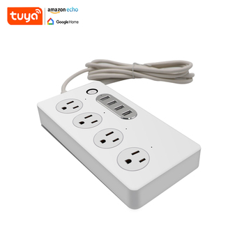 Hot Sale 110V 6 Outlet   Smart Mini Plug Wif Socket  Remote Control Power  Strip