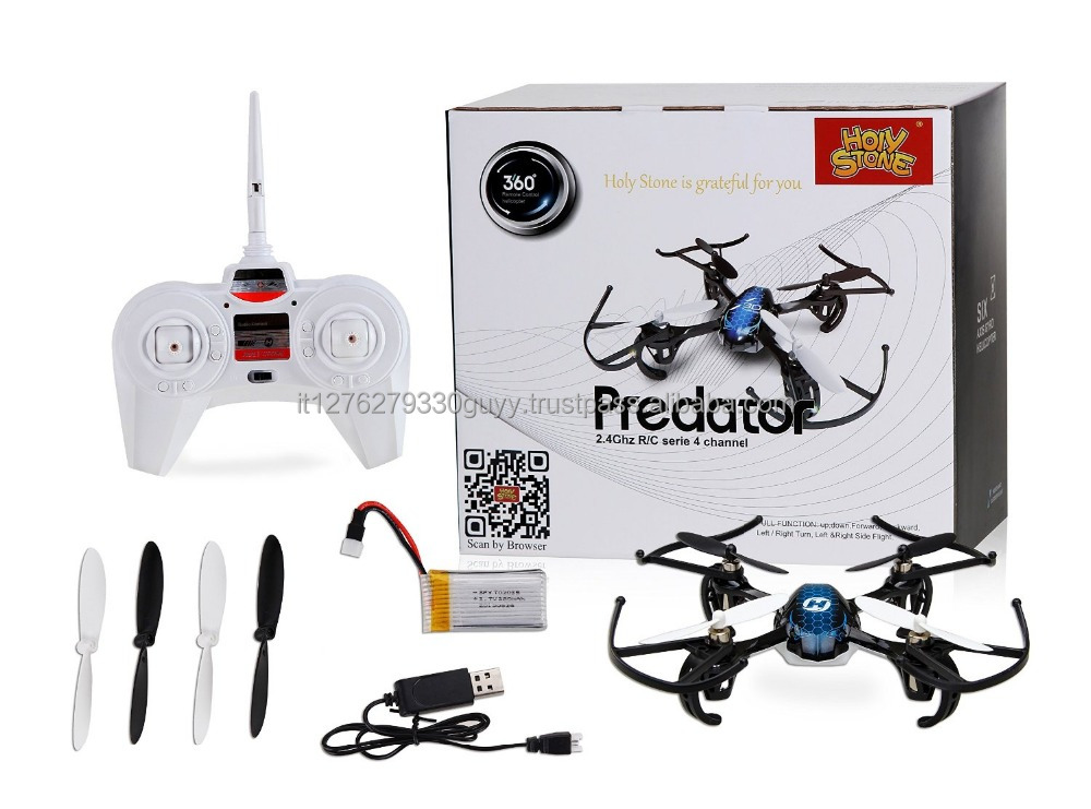 Brand new HS170 Predator Mini RC Helicopter Drone 2.4Ghz 6-Axis Gyro 4 Channels