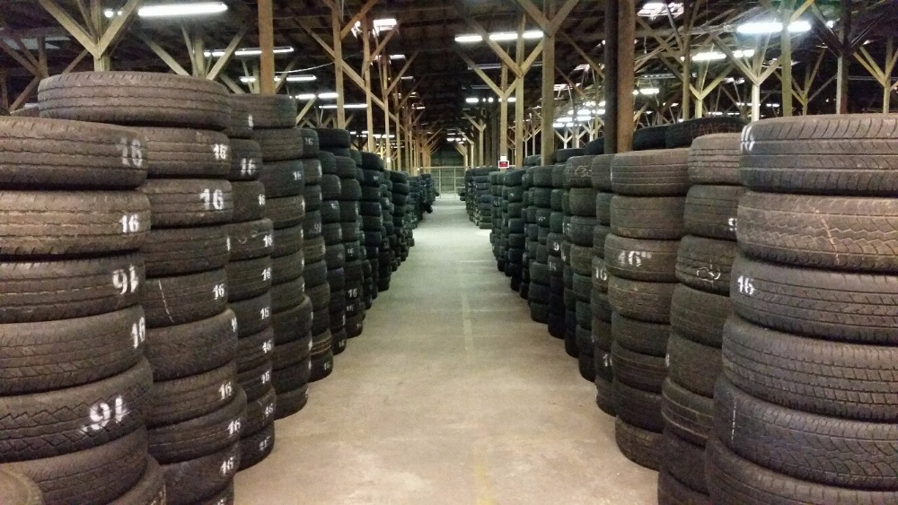 Best selling cheap used car tyres for export