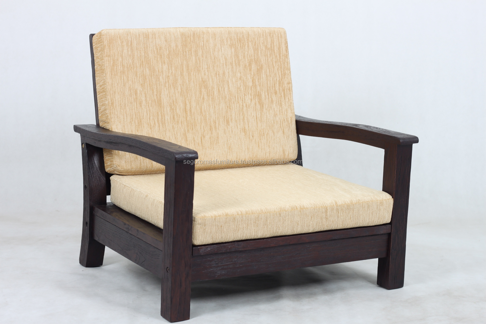 TEAK WOOD SOFA FRAME -ONE SEATER