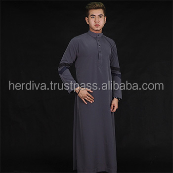 Arman Cotton Jubah (PLUS SIZE) XXL-15XL Men shirt Kurta Thobe Islamic Clothes Muslim Abaya Men Design