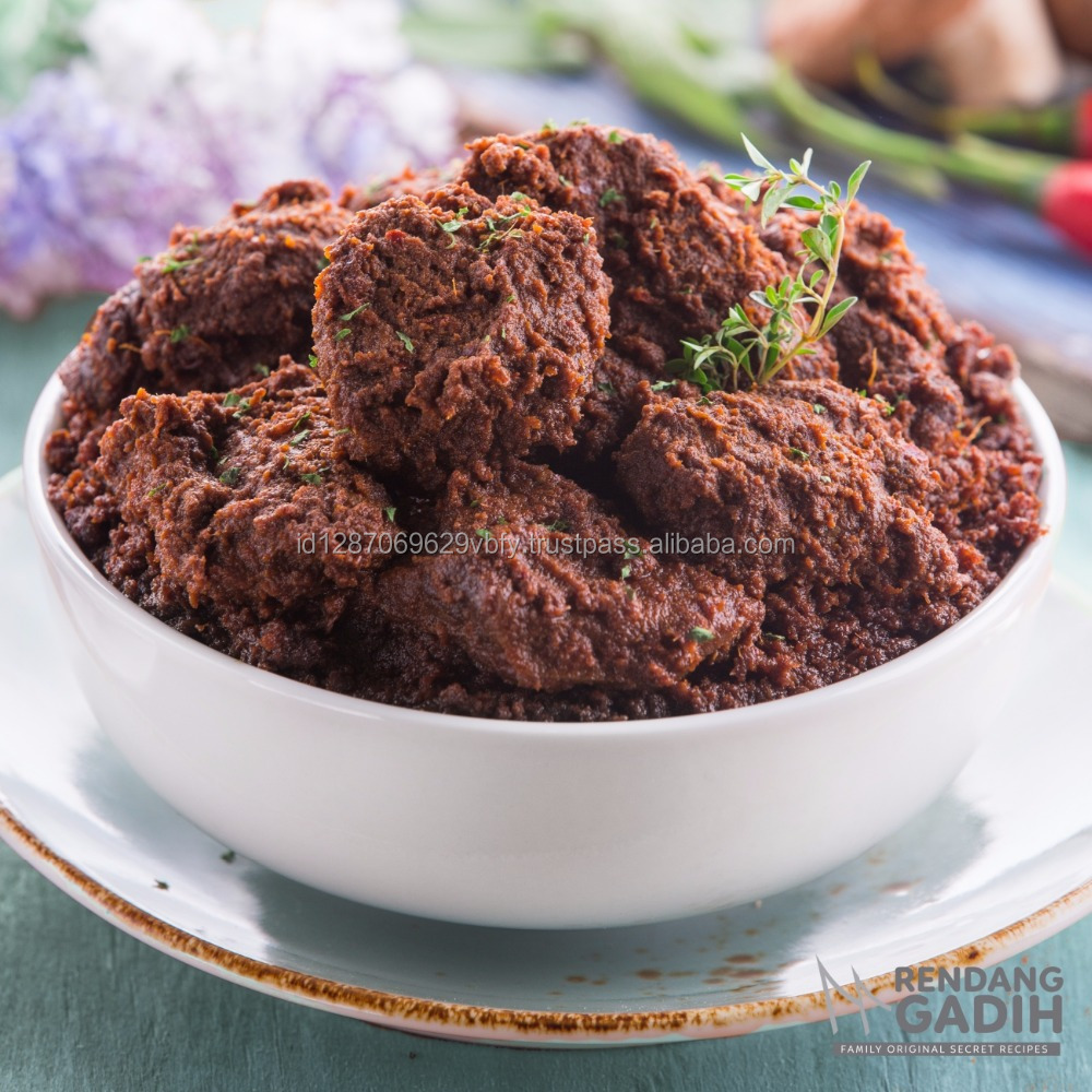 Hight Quality of Beef Rendang From Indonesia