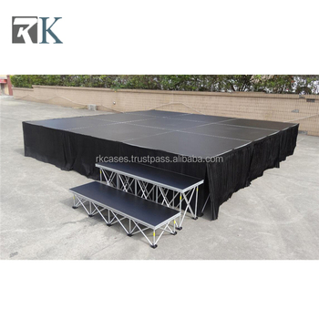 Aluminium Plywood Smart Stage Portable Stage for Show