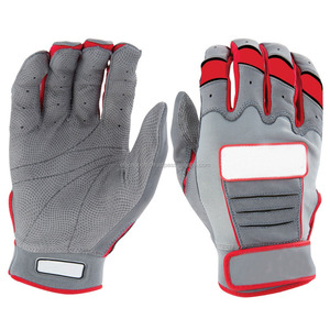 Genuine pittared Leather Baseball Batting Gloves