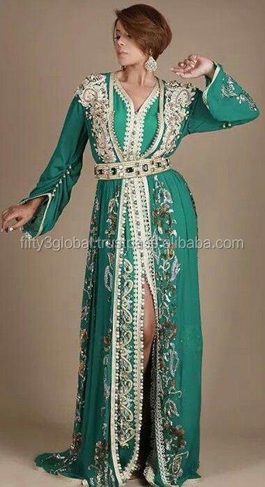 Dubai Style Kaftan Party wear Jalabiya Wedding Kaftan Dress Moroccan Style Kaftan Caftan