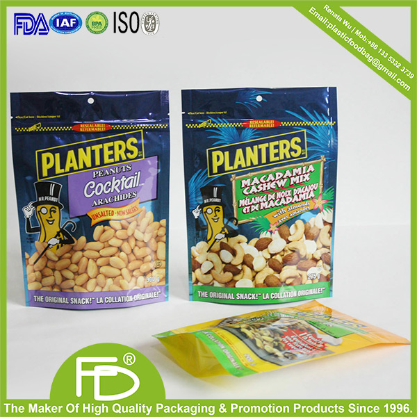 Custom printing plastic lays potato chips bag in various sizes 250g