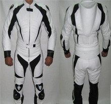 MOTORBIKE LEATHER SPORTS SUIT RACING BIKER SUIT CE ARMOURED ALL SIZES FC-11379