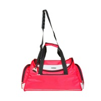 Infinit duffle bag, pink color, travel bag_