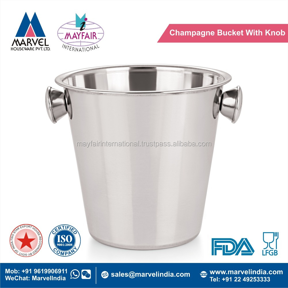 Champagne Bucket With Knob