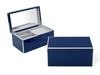 High Glossy Navy Lacquer Jewelry Box