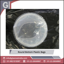 Leakage Proof Wear/ Tear Resistant Round Bottom Plastic Bags at Best Price