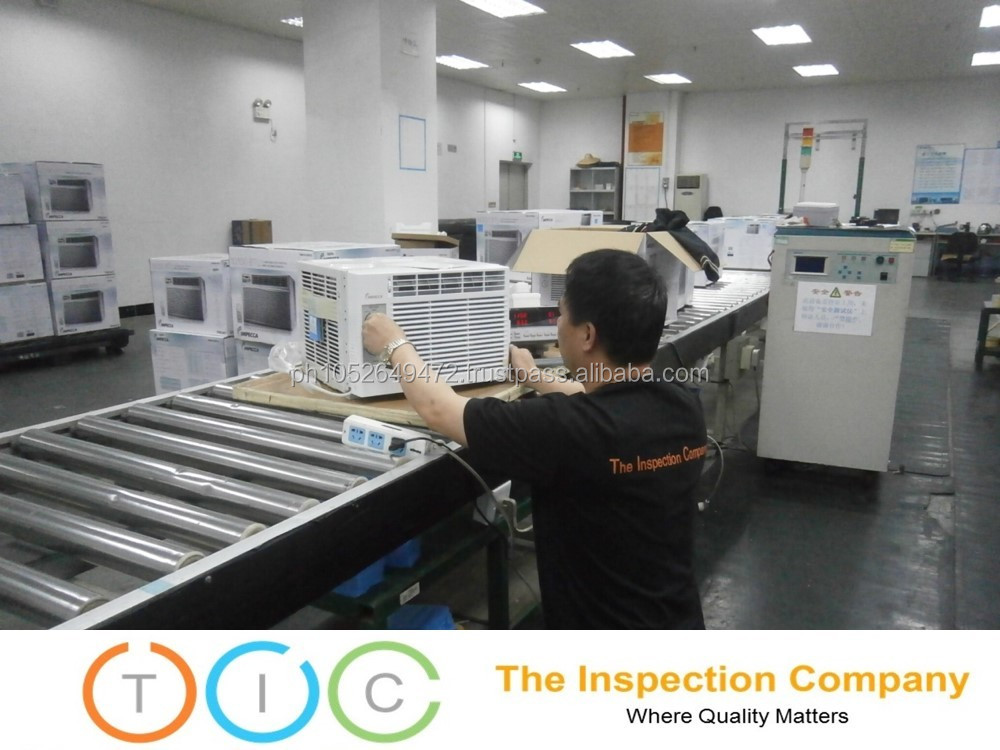Third Party Inspection in Macau for Air Conditioner