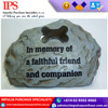New Design Brass/Polyresin Pet Dog memorial stone For Sale