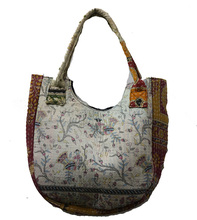 New Patchwork Indian Handmade Cotton Beautiful Women Tote shoulder Handbag For Shopping Carry Messenger Bag