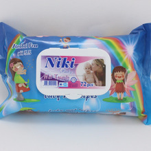 HIGH QUALITY BABY WET TOWEL WIPES 72 PCS OEM & MANUFACTURER BRAND