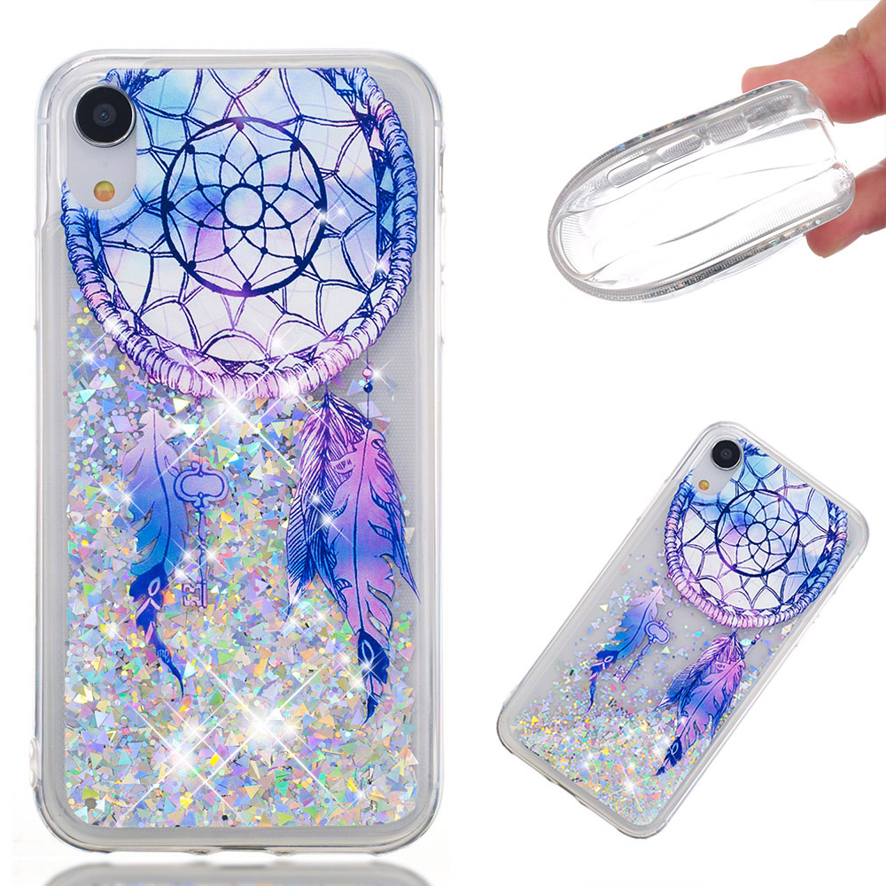 3D Quicksand Sparkle Bling Floating Liquid Clear Luxury Silicone Slim TPU Phone <strong>Case</strong> Protective <strong>Case</strong> for iphone for samsung
