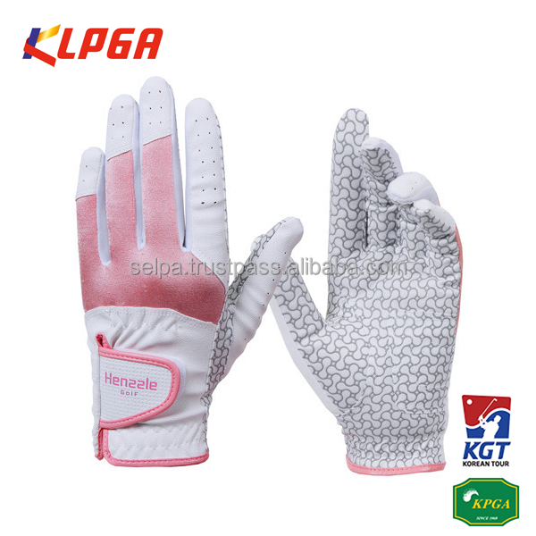 Men & Women's Synthetic Leather Compression-Fit Grip Golf Gloves